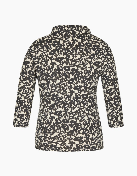 Bexleys woman Shirt mit Rollkragen und 3/4-Arm   ADLER Mode Onlineshop