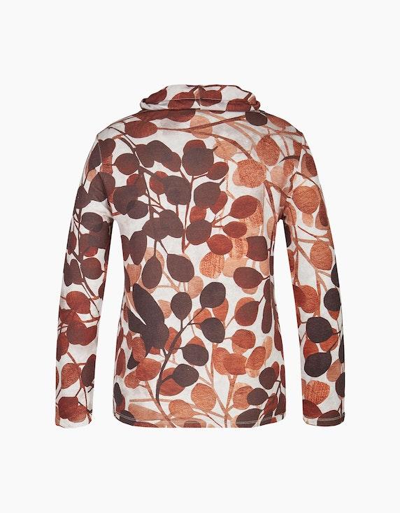 Bexleys woman Sweatshirt mit Blätterdruck   ADLER Mode Onlineshop