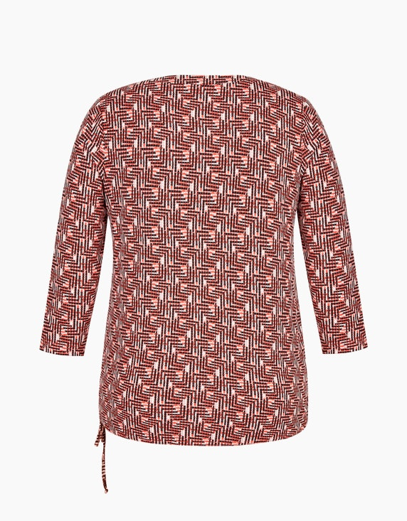 Bexleys woman Gemustertes Shirt mit 7/8-Arm | ADLER Mode Onlineshop