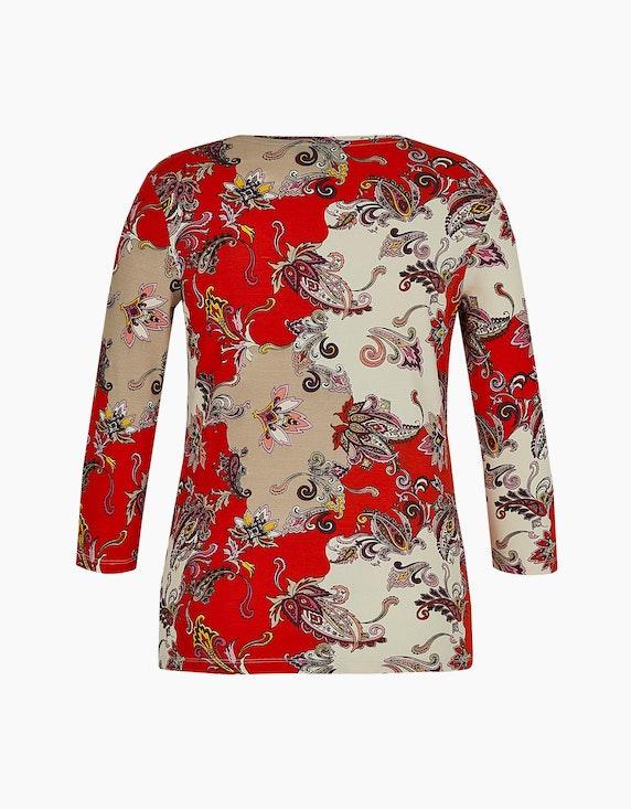Bexleys woman Shirt in gerippter Qualität mit 3/4-Arm | ADLER Mode Onlineshop