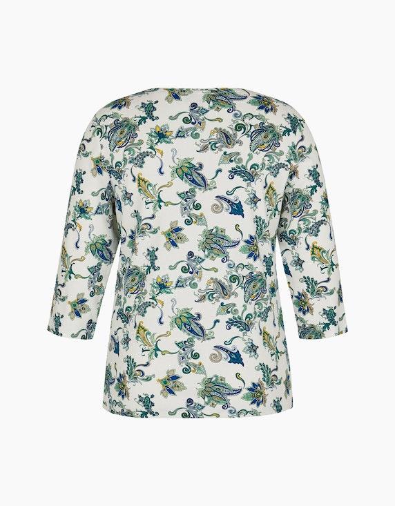 Bexleys woman Shirt in gerippter Qualität mit Strassbesatz | ADLER Mode Onlineshop