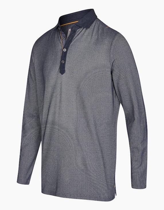 Eagle Denim Poloshirt aus Baumwollmischung | ADLER Mode Onlineshop