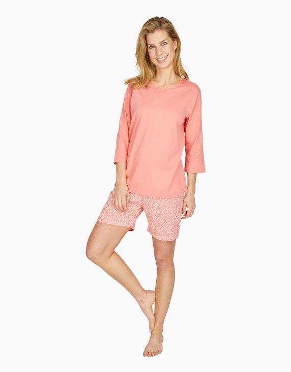 Bexleys woman kurze Hose mit Allover-Print | ADLER Mode Onlineshop