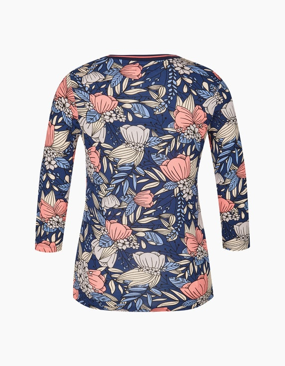 Bexleys woman Shirt mit Blumendruck | ADLER Mode Onlineshop