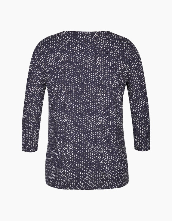 Bexleys woman Shirt mit Minimal-Print und Ärmeln in 3/4 Länge | ADLER Mode Onlineshop
