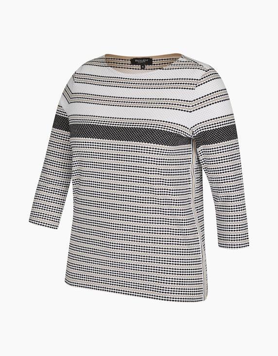 Bexleys woman Shirt mit Waffelstruktur | ADLER Mode Onlineshop