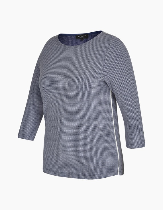 Bexleys woman Jacquard-Shirt | ADLER Mode Onlineshop