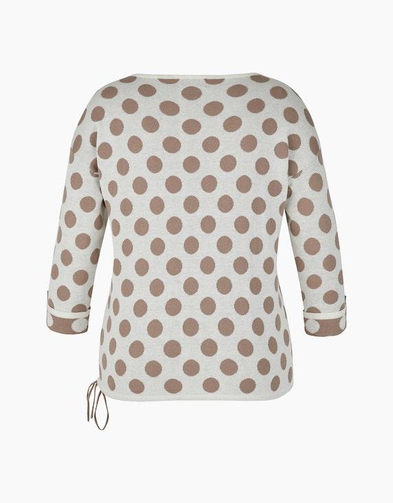 Bexleys woman Jacquard-Pullover mit Polka Dots | ADLER Mode Onlineshop