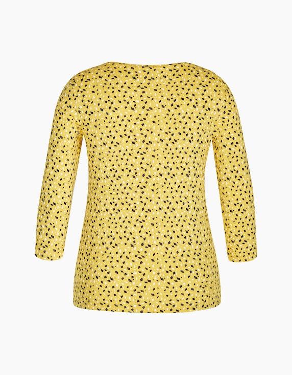 Bexleys woman Shirt mit Rauten-Druck und Ärmeln in 3/4-Länge | ADLER Mode Onlineshop
