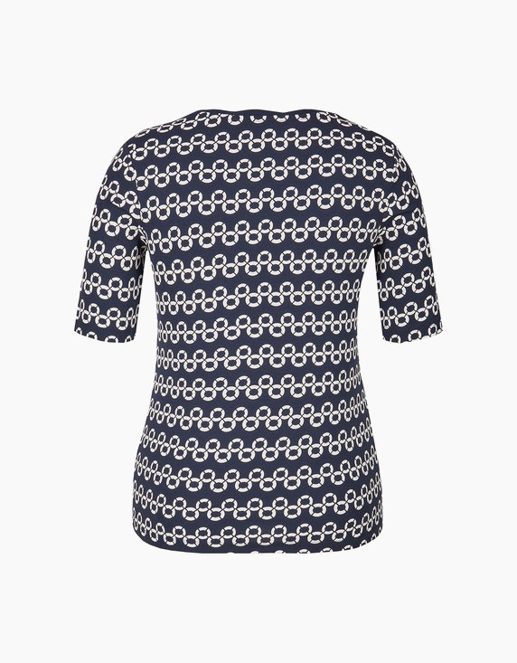 Bexleys woman Bedrucktes Shirt mit halblangen Ärmeln | ADLER Mode Onlineshop