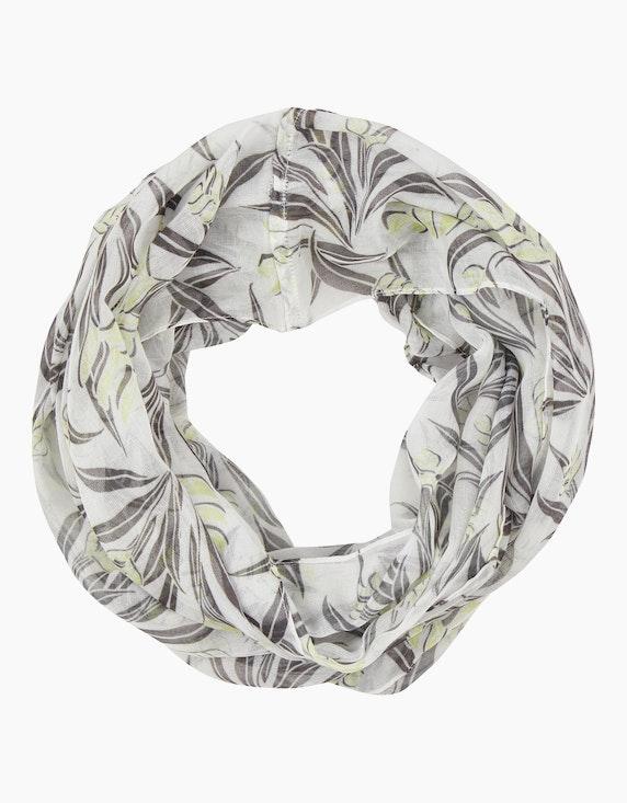 MY OWN Loop-Schal mit Blätterdruck | ADLER Mode Onlineshop