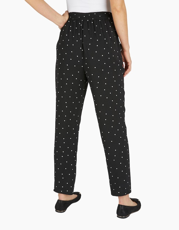 Bexleys woman Palazzo-Hose im Tupfendessin | ADLER Mode Onlineshop