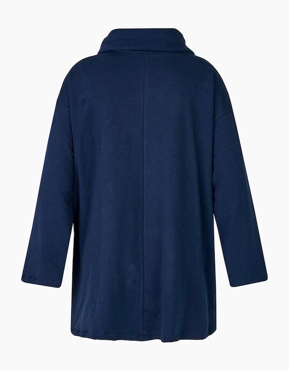Thea Long-Sweatshirt mit weitem Rollkragen | ADLER Mode Onlineshop