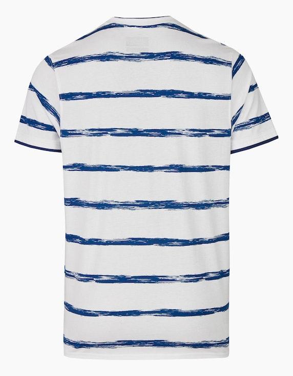 Bexleys man T-Shirt gestreift | ADLER Mode Onlineshop