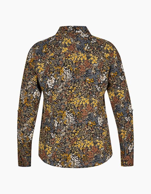 Bexleys woman Hemdbluse mit Krempelärmeln und verdeckter Knopfleiste | ADLER Mode Onlineshop