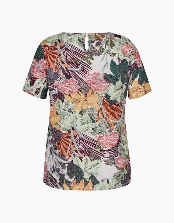 Bexleys woman Schlupfbluse mit tropischen Allover-Print | ADLER Mode Onlineshop