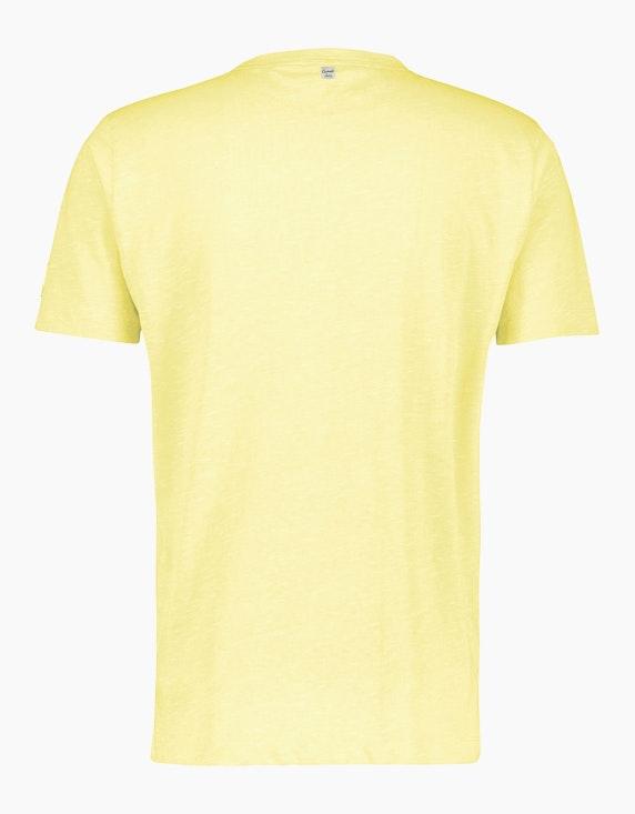 Lerros Baumwoll-Leinen-T-Shirt | ADLER Mode Onlineshop
