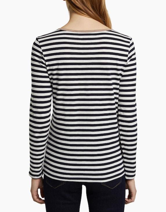 Esprit Henley-Shirt im Streifen-Look | ADLER Mode Onlineshop