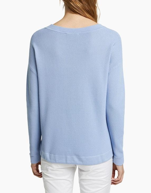 Esprit Pullover mit Streifen-Struktur, Baumwoll-Viskose | ADLER Mode Onlineshop