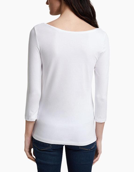 Esprit Basic-Shirt mit tiefem Ausschnitt | ADLER Mode Onlineshop