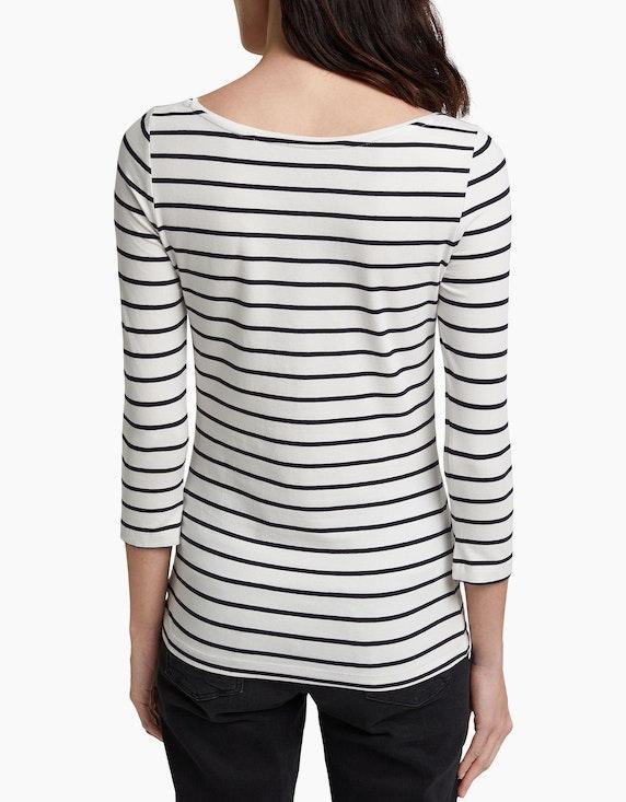 Esprit Basic-Shirt im Streifen-Dessin, Bio-Baumwollmix | ADLER Mode Onlineshop