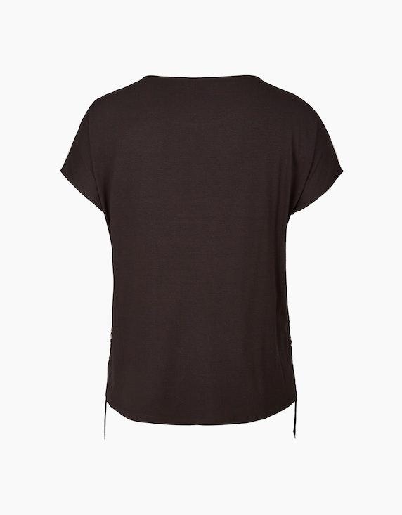 VIA APPIA DUE Shirtbluse mit Raffung | ADLER Mode Onlineshop