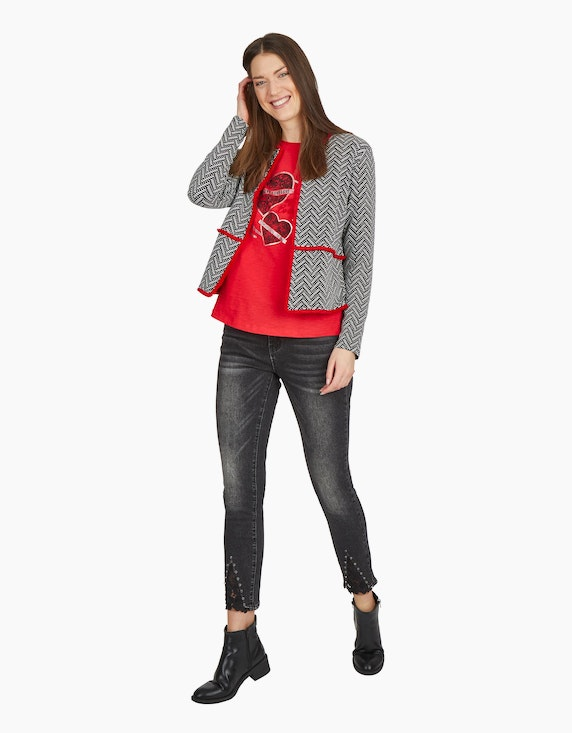 MY OWN Cardigan mit Jacquard-Muster | ADLER Mode Onlineshop