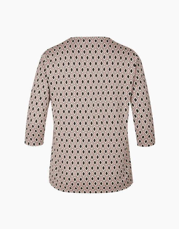 VIA APPIA DUE Sweatshirt mit Allover-Print   ADLER Mode Onlineshop