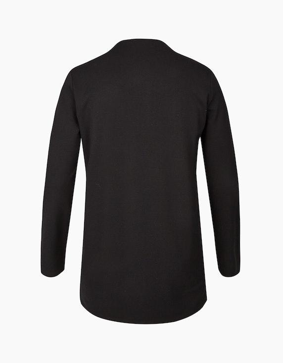 VIA APPIA DUE Cardigan mit Velour-Vorderseite   ADLER Mode Onlineshop