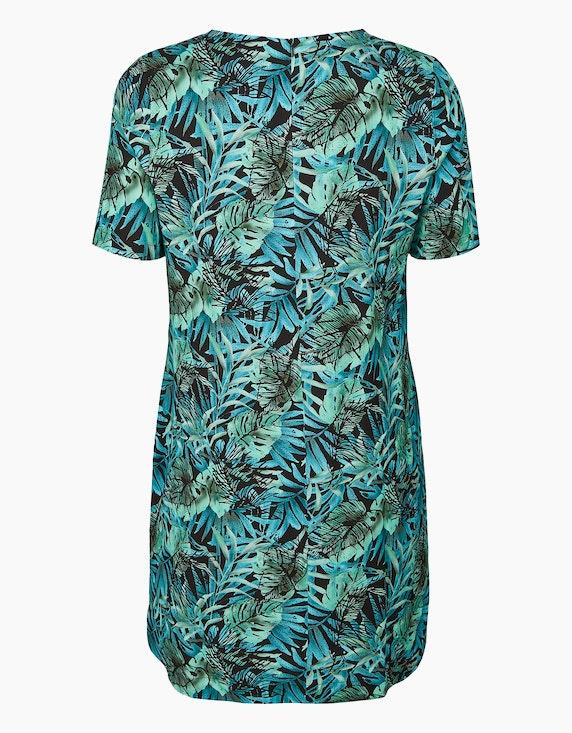No Secret Kleid mit Palmenblätterprint   ADLER Mode Onlineshop