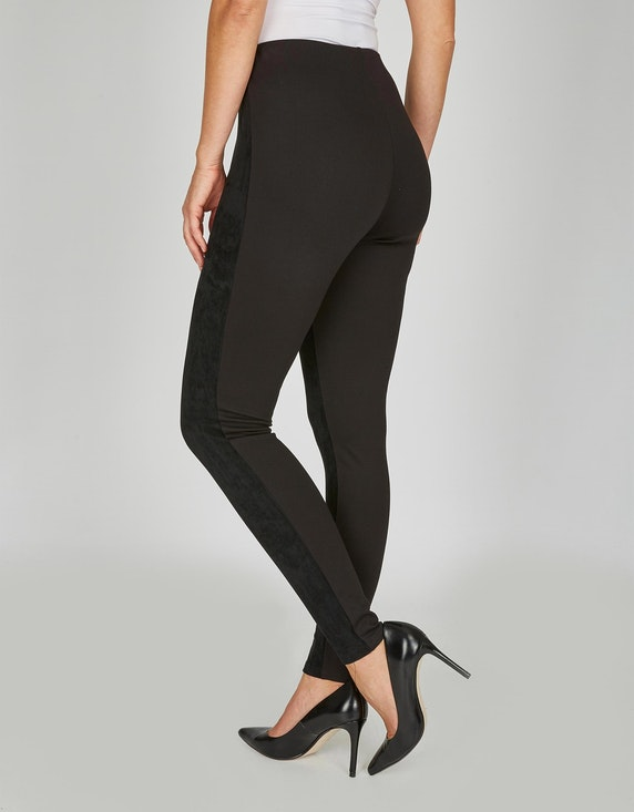 Bexleys woman Leggings im Material-Mix   ADLER Mode Onlineshop