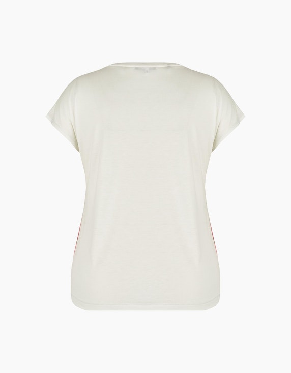 Steilmann Woman Shirt mit Chiffon-Front | ADLER Mode Onlineshop