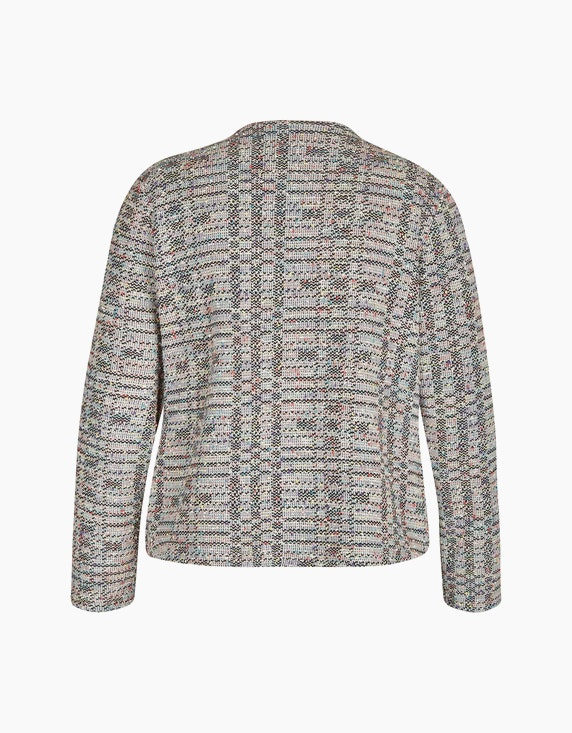 Bexleys woman Bouclé-Cardigan in offener Form | ADLER Mode Onlineshop