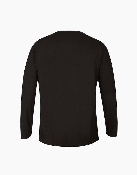 VIA APPIA DUE Langarmshirt in Blusenoptik   ADLER Mode Onlineshop