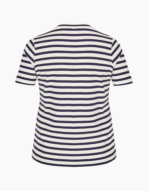 VIA APPIA DUE Fesches T-Shirt mit Glitzersteinen | ADLER Mode Onlineshop