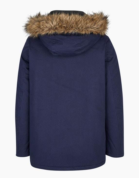 Eagle Denim Wattierter Parka mit Kapuze | ADLER Mode Onlineshop
