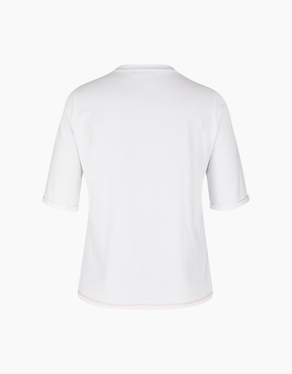 No Secret Halbarmshirt mit Pailletten-Motivdruck | ADLER Mode Onlineshop