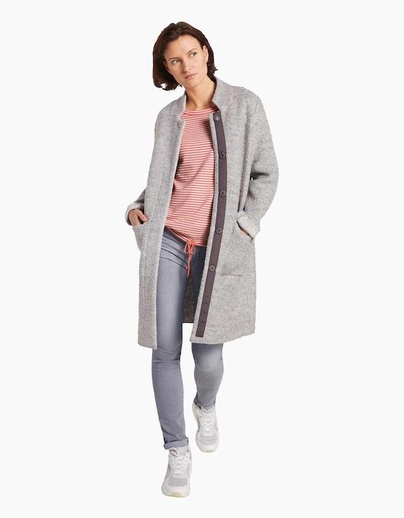Tom Tailor Feinstrick-Pullover im Streifen-Look, Loose Fit | ADLER Mode Onlineshop