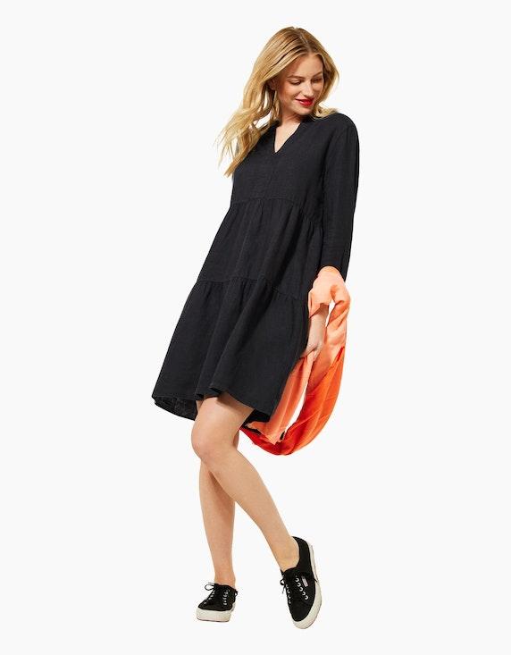 Street One Leinen-Kleid im Tunika-Style   ADLER Mode Onlineshop