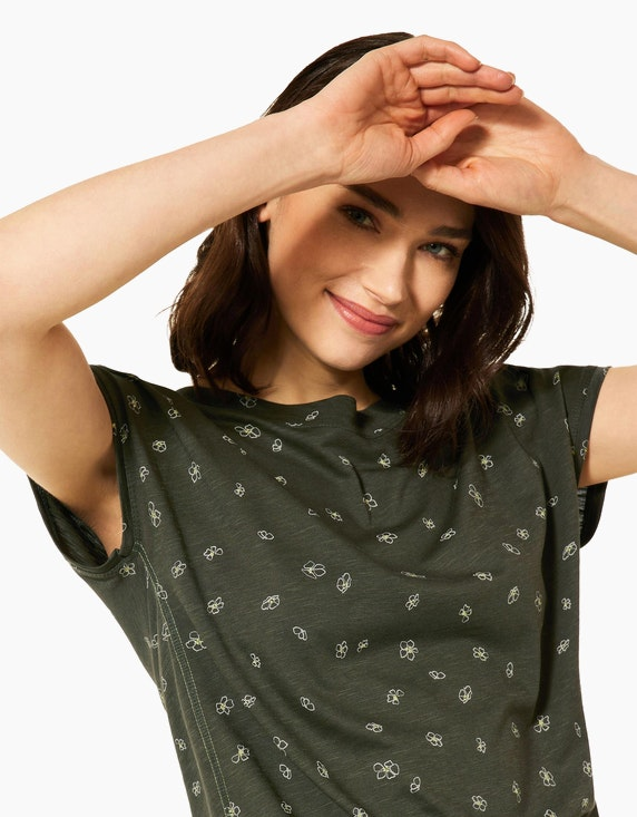 CECIL Shirt mit Minimal-Print   ADLER Mode Onlineshop