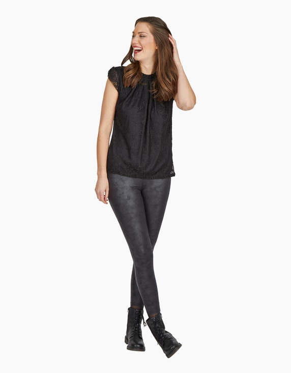 iN FRONT Leggings in Lederoptik   ADLER Mode Onlineshop
