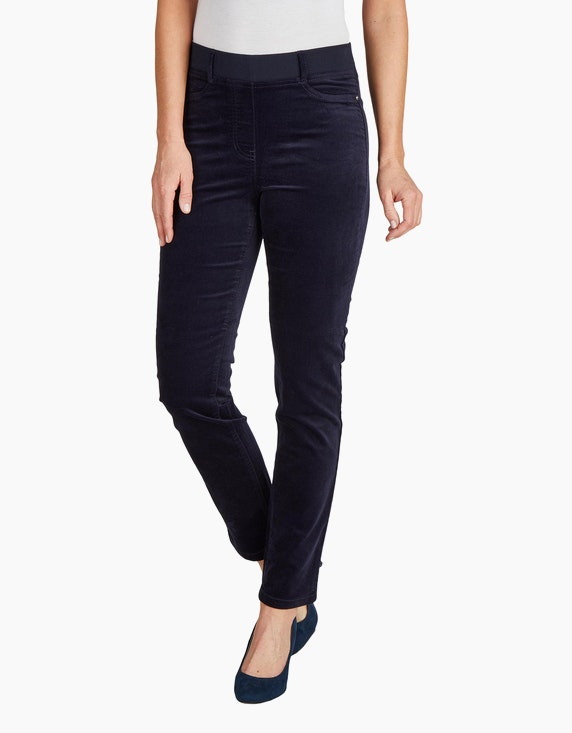 Bexleys woman Samt-Leggings | ADLER Mode Onlineshop
