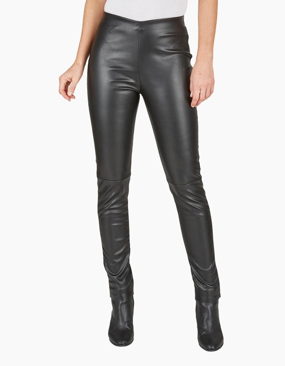 Bexleys woman Leggings in Leder-Optik | ADLER Mode Onlineshop
