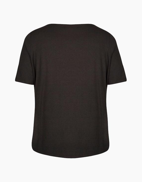 No Secret Shirt mit Raffdetails am Ausschnitt | ADLER Mode Onlineshop