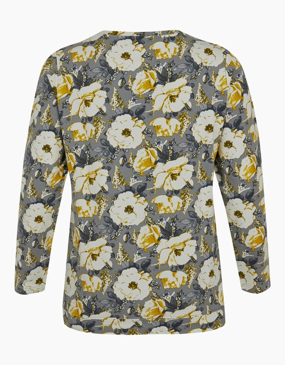 Thea Sweatshirt mit floralem Druck   ADLER Mode Onlineshop