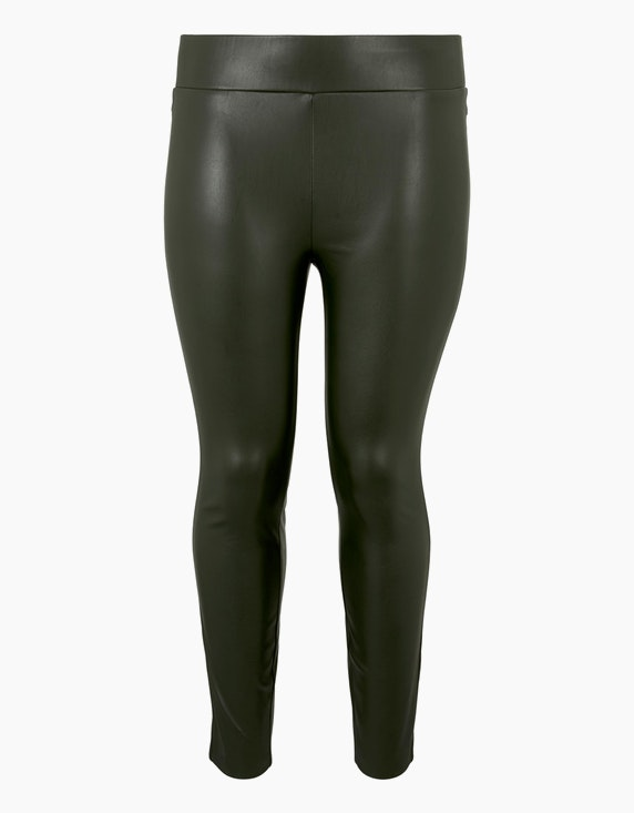 My True Me Lederoptik-Leggings | ADLER Mode Onlineshop