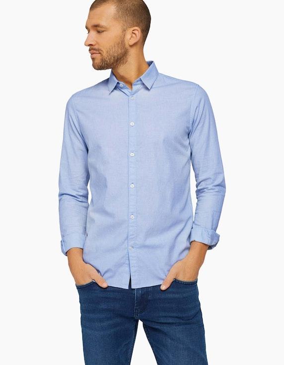 Tom Tailor Business-Hemd mit Struktur   ADLER Mode Onlineshop