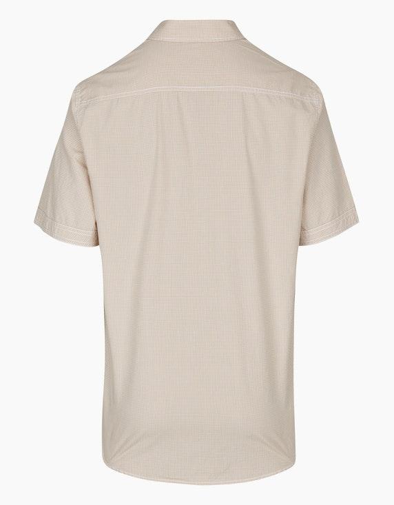 Bexleys man Kariertes Hemd mit zwei Brusttaschen, REGULAR FIT | ADLER Mode Onlineshop