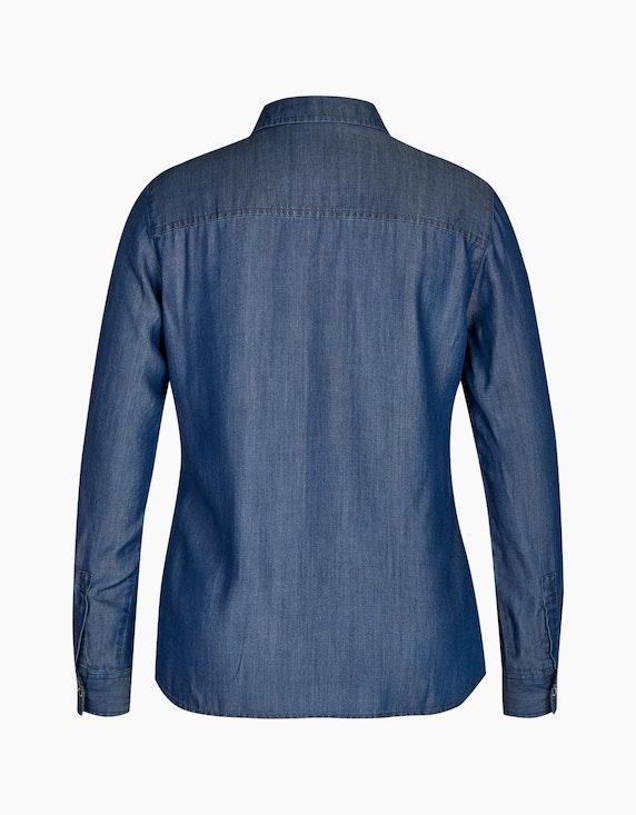 Bexleys woman Hemdbluse im Jeans-Look | ADLER Mode Onlineshop
