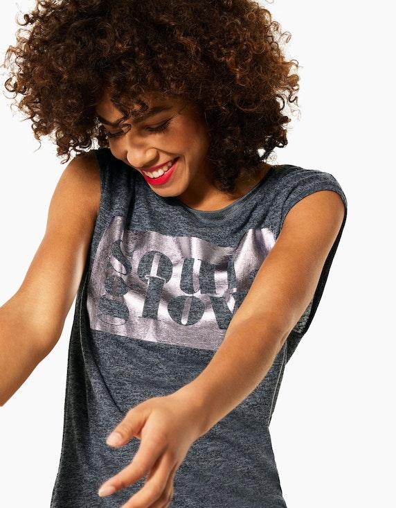 Street One Shirt mit Statement-Print | ADLER Mode Onlineshop